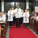 Celebração da Eucaristia da Ceia do Senhor – Cerimônia do Lava Pés