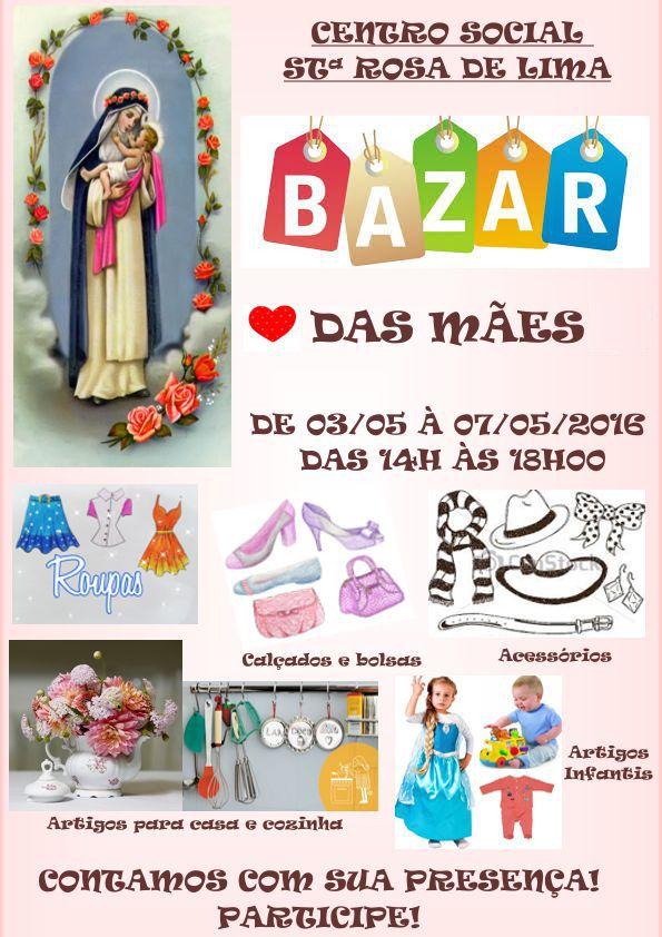 bazar  dia das maes 2016