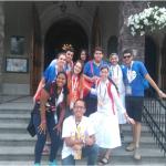 Os jovens da Paróquia Santa Rosa de Lima  participam da JMJ 2016