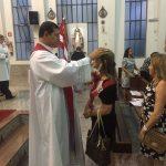 Missa de São Brás, benção das gargantas aconteceu dia 03 de fevereiro de 2017