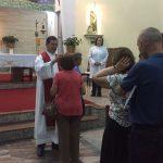 Missa de São Brás, benção das gargantas