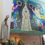 Nossa Senhora de Fátima está visitando a nossa Paróquia