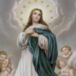 Convite para celebração da Santa Missa em honra à Imaculada Conceição de Maria!