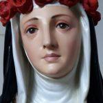 Restauro da imagem de Santa Rosa de Lima