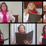 Coral Nossa Voz que atua em nossa paróquia faz concertos de Natal no Youtube